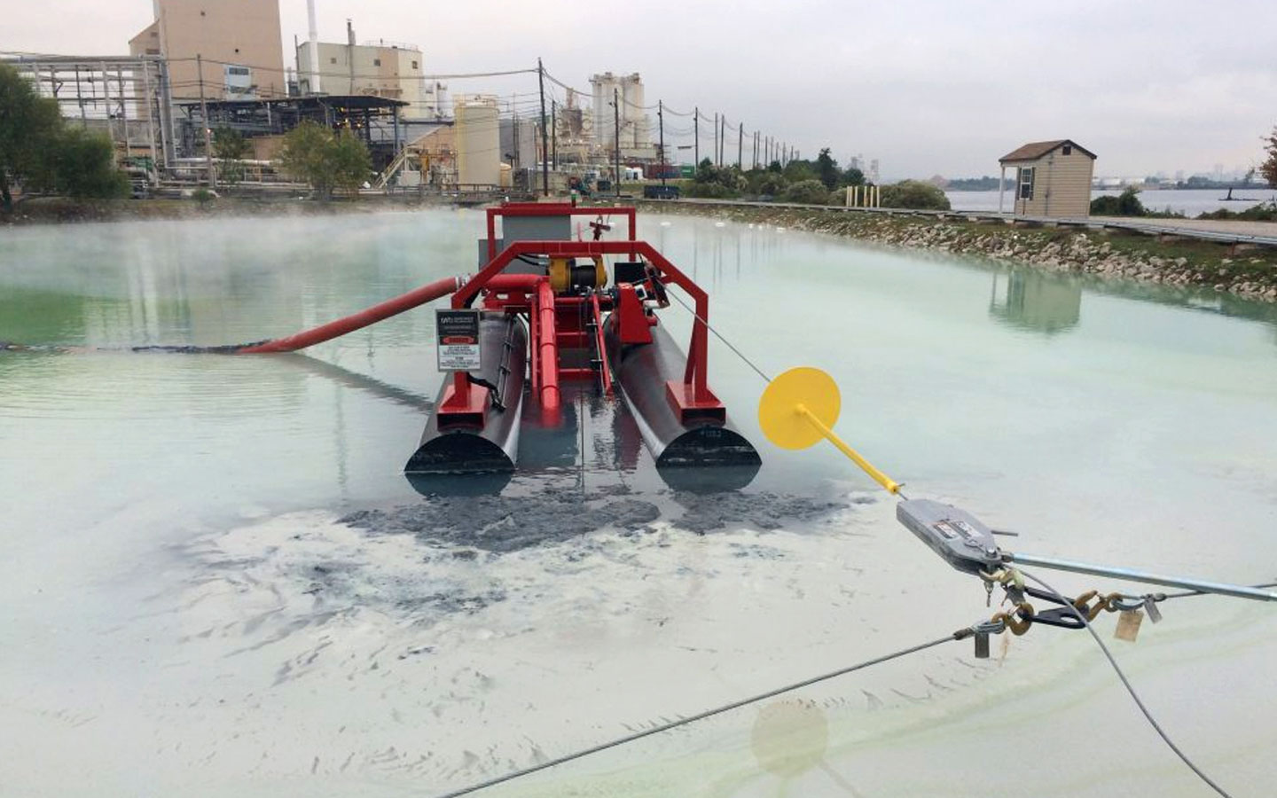 Automated dredging by Spike Enterprise