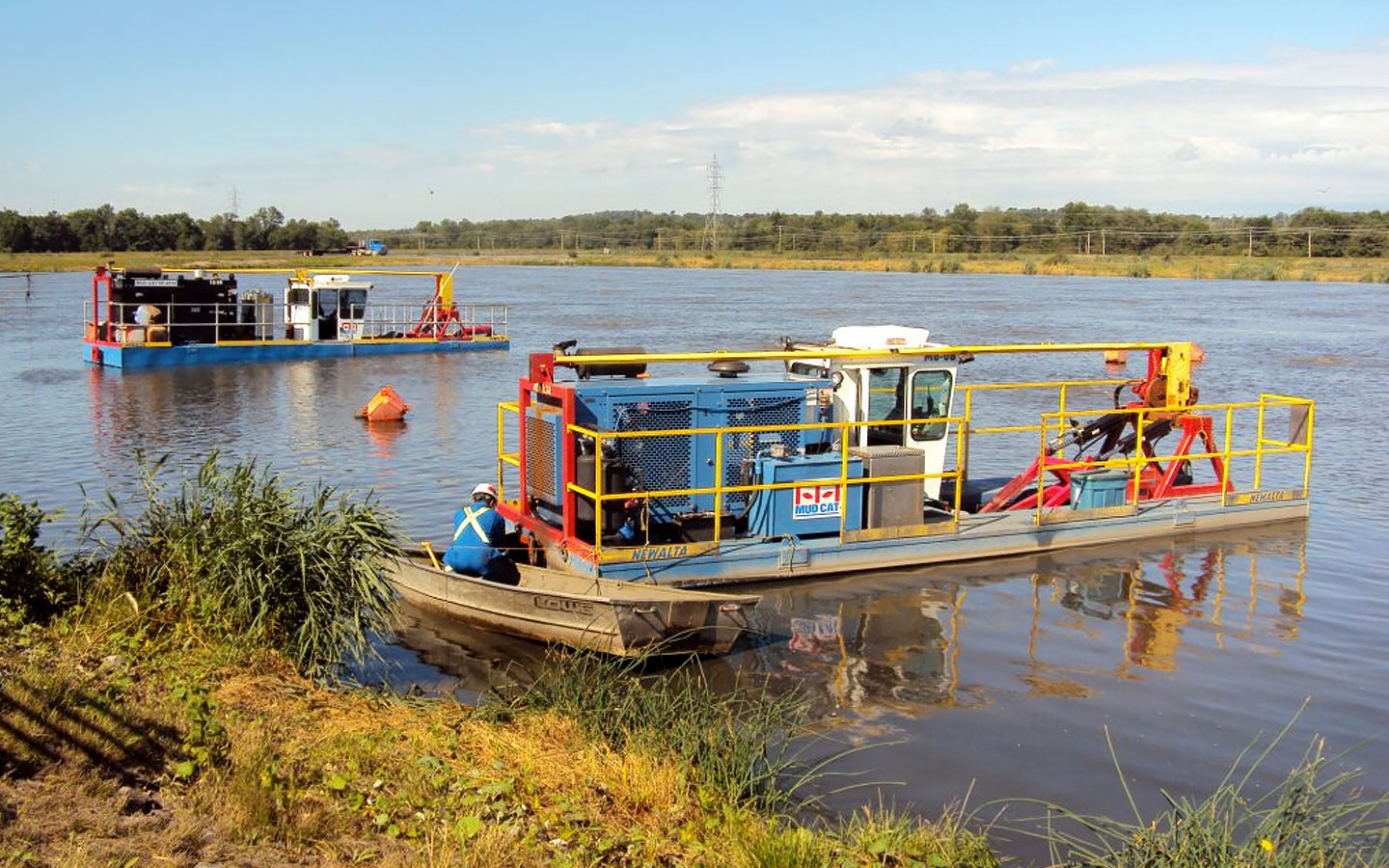 Dredging Services for Lagoons and Ponds by Spike Enterprise