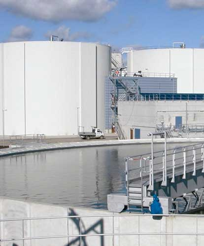 Wastewater treatment facility cleaning by Spike Enterprise