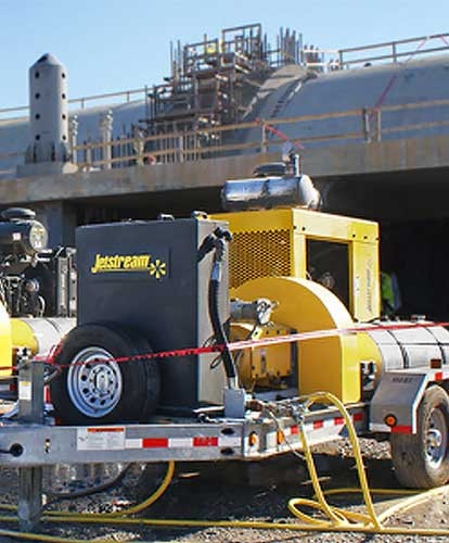 Image of 10k-40k hydroblasting services by Spike Enterprise