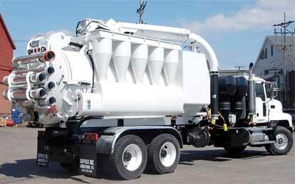 Image of Hydro Excavating vacuum truck services by Spike Enterprise
