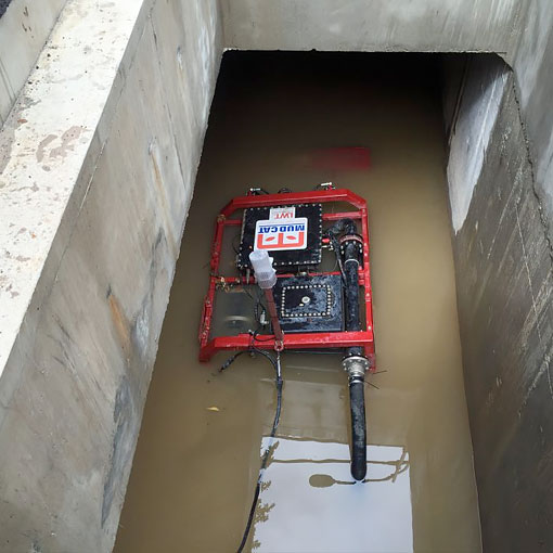 Image of Remote controlled dredge design by Spike Enterprise