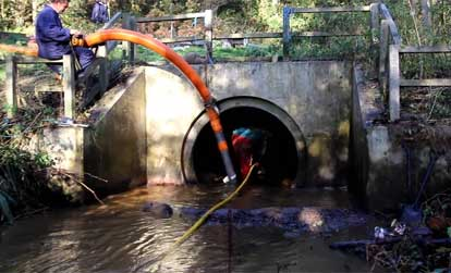 Image of Sewer and Culvert cleaning services by Spike Enterprise